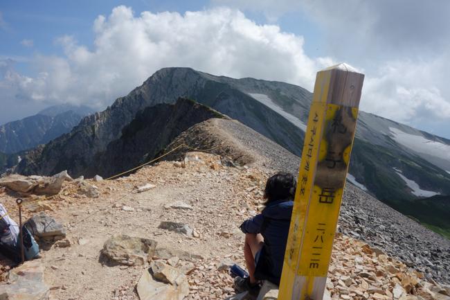 白馬岳テント泊201808-18