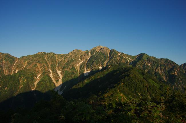 1508五竜岳 遠見尾根-9