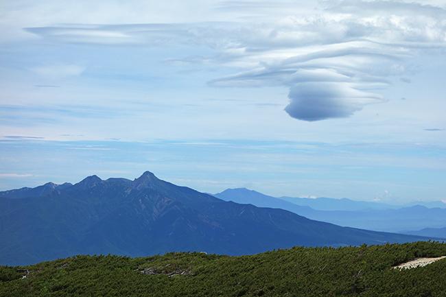 八ヶ岳の雲1507