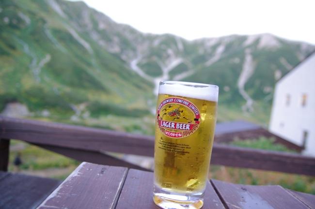 雷鳥沢ヒュッテ ビール