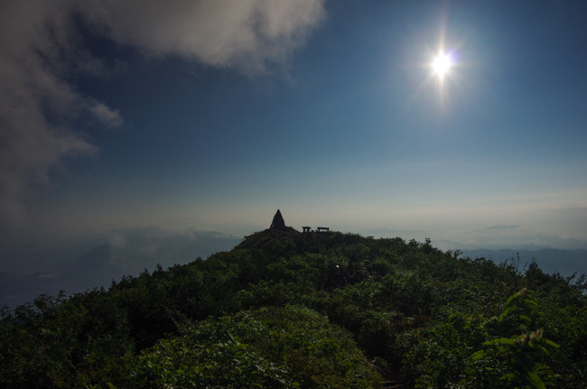 1508五竜岳 遠見尾根-24