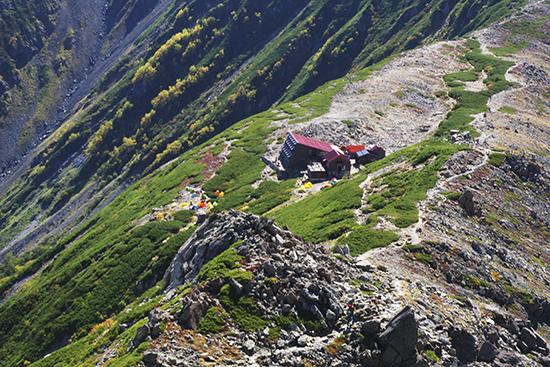 201309北岳山荘の景色