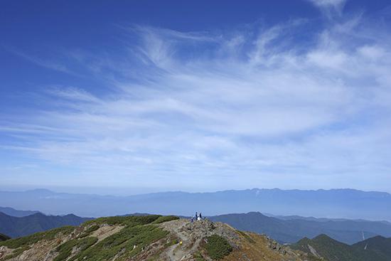 2013農鳥岳山頂-6