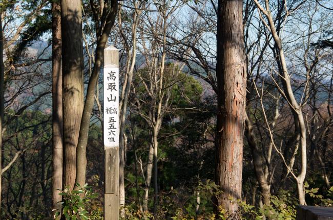 秦野弘法山から大山-20