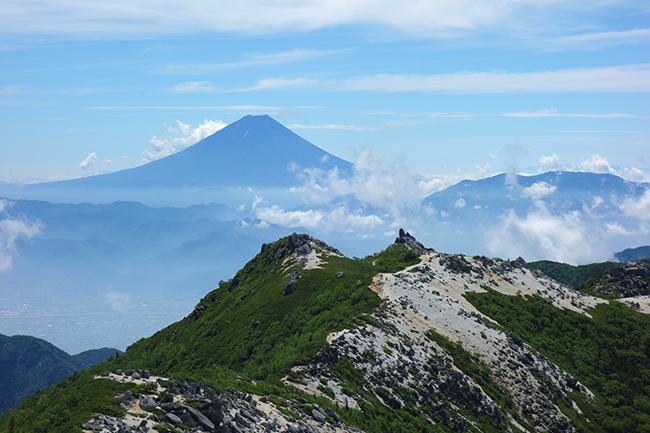 観音岳山頂1507