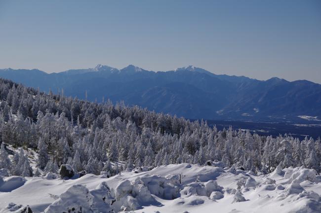 八ヶ岳北横岳冬-4