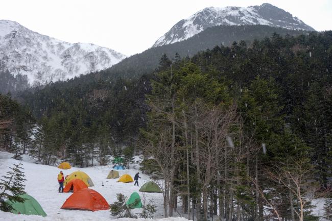GW八ヶ岳赤岳残雪-42