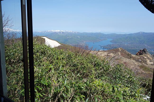 磐梯山岡部小屋から1505.