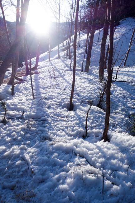 GW八ヶ岳赤岳残雪-11