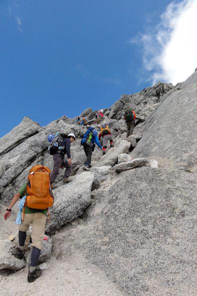 甲斐駒山頂-3