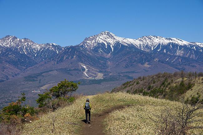飯盛山ハイキング 八ヶ岳の大展望!