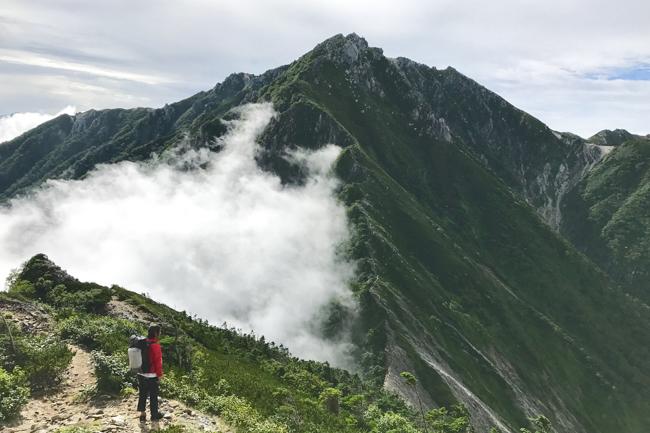 中央アルプス縦走(木曽駒ケ岳〜檜尾岳避難小屋〜空木岳) DAY2