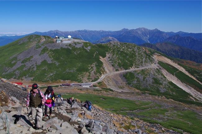 1210乗鞍岳登山道4