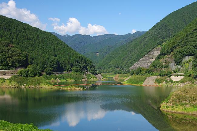 名栗湖1409