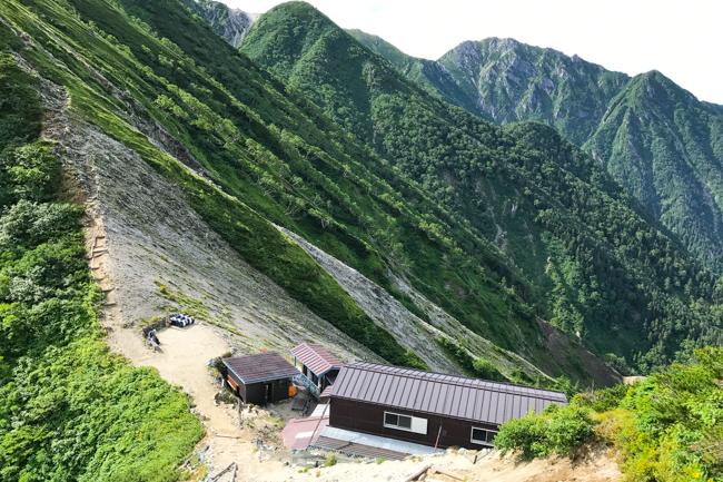 木曽駒〜空木岳縦走テント-33