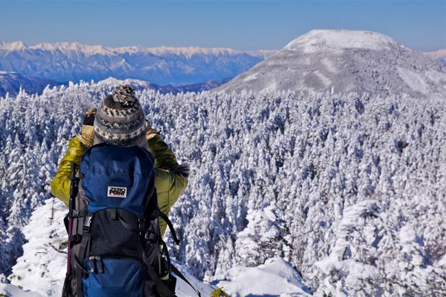 冬の北横岳・縞枯山  初めての雪山登山