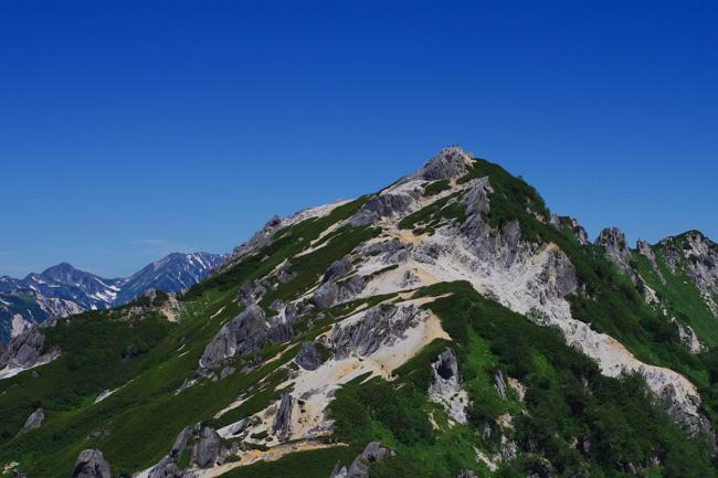 IMGP9640燕岳〜大天井
