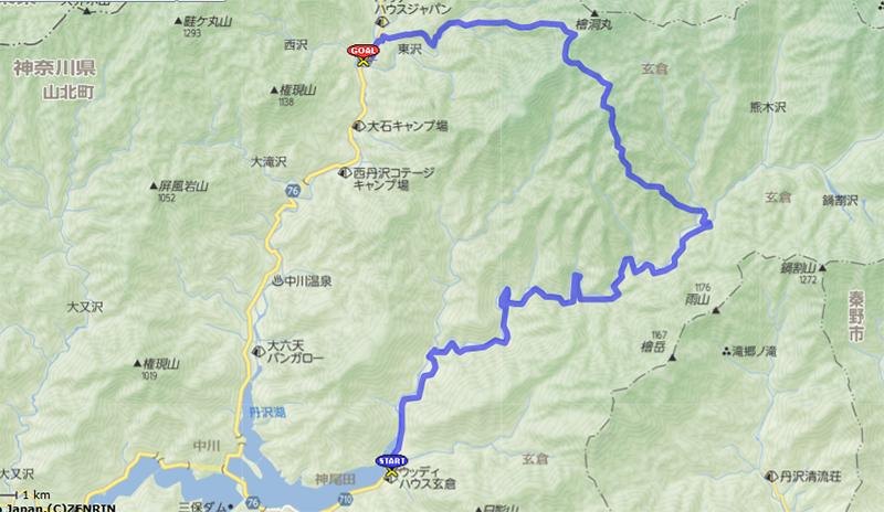 大石山ルート