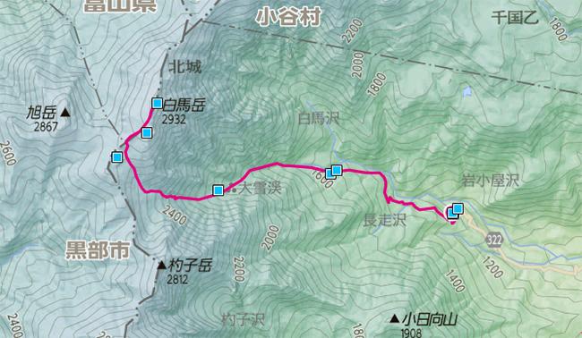 2013白馬岳