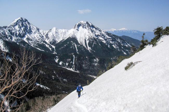 GW八ヶ岳赤岳残雪-3