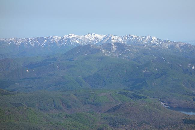 磐梯山からの展望 飯森山1505