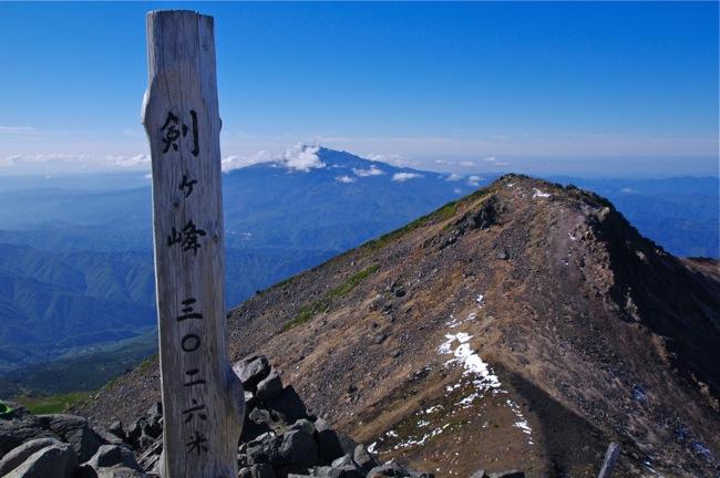1210乗鞍岳頂上2