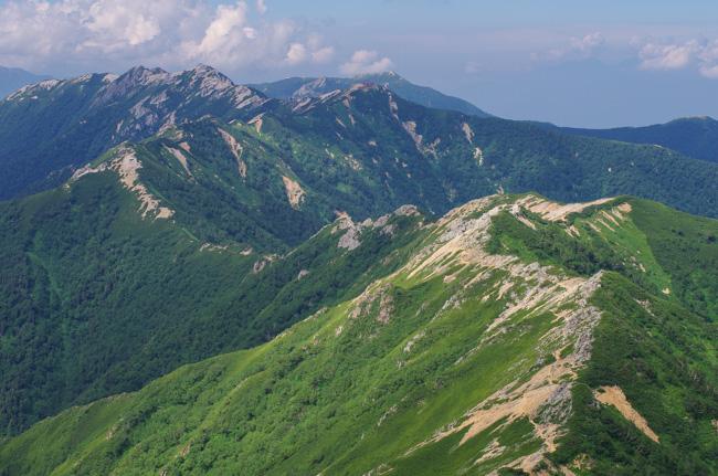 IMGP9835燕岳〜大天井