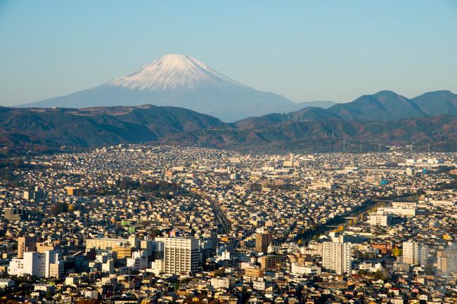 秦野駅〜弘法山〜大山へ!大山南山稜縦走コース