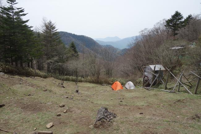 笠取山〜将監小屋1605-7