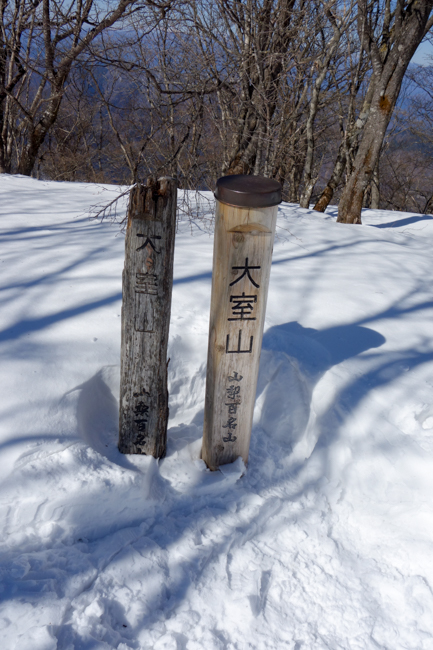 西丹沢大室山の冬-25