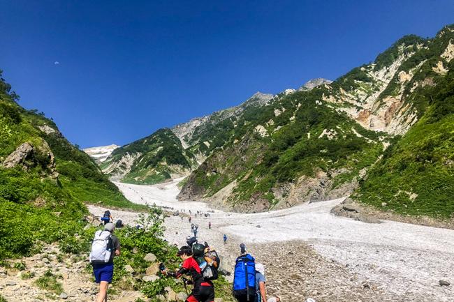 白馬岳テント泊201808-27