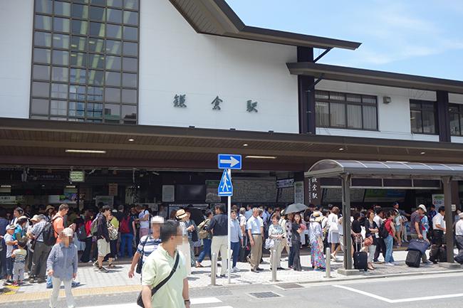 鎌倉駅0630