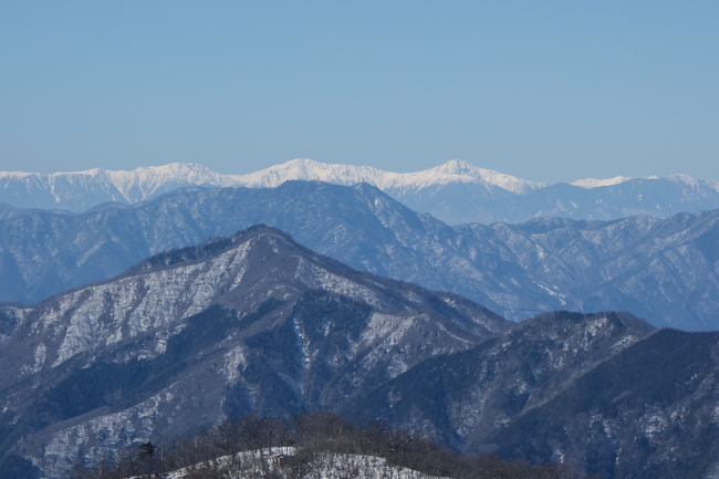 西丹沢大室山の冬-22
