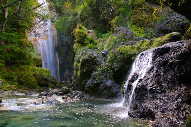 1210乗鞍岳 滝2