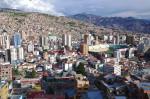 世界最高所の首都ラパス ボリビア1409