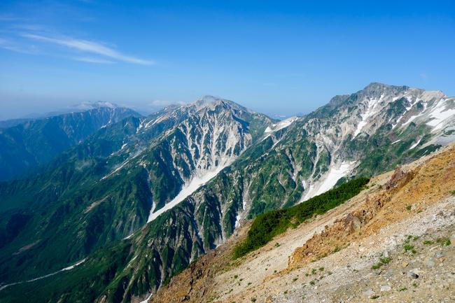 白馬岳テント泊20180805-13
