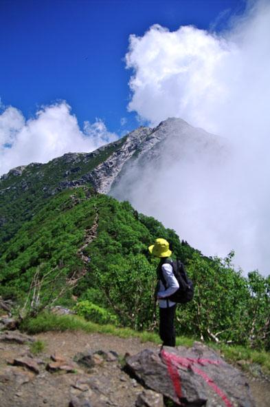 甲斐駒山頂-12