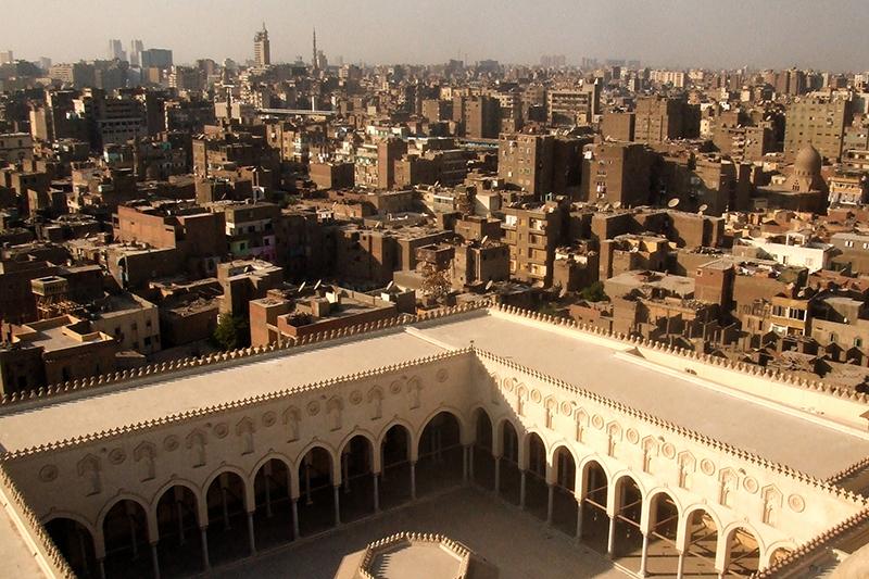 エジプト1 首都カイロ到着 旅の始まり