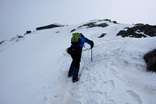 GW八ヶ岳赤岳残雪-5