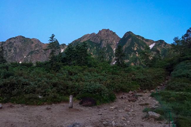 1508五竜岳 遠見尾根