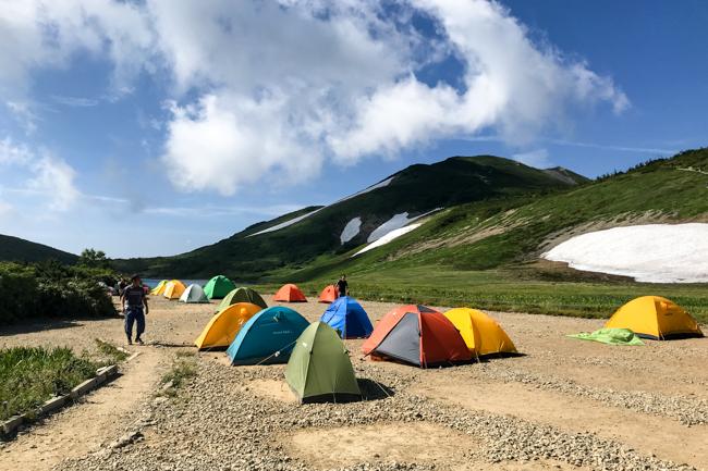 白馬岳テント泊20180805R