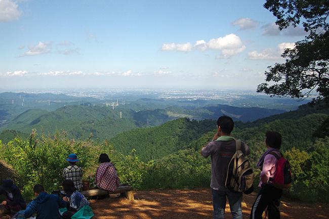 岩茸石山山頂1409