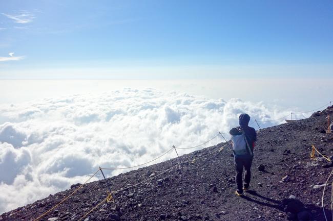 富士登山6月-18