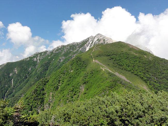 甲斐駒山頂-10