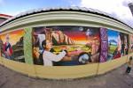 アンデスの壁画 エクアドル 1409