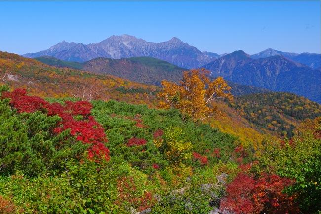 乗鞍岳の絶景紅葉! 三本滝レストハウスから日帰り登山