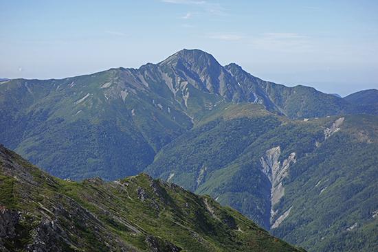 2013白峰から塩見岳