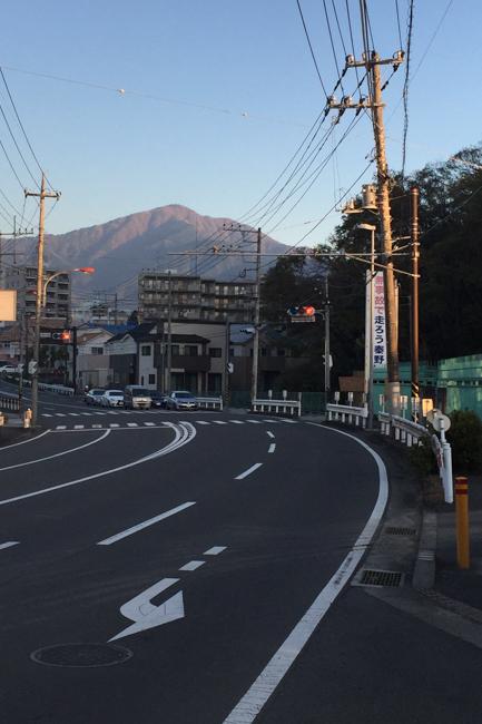 秦野弘法山から大山-2