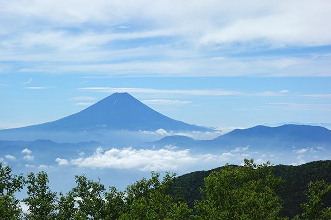 薬師から富士山1507