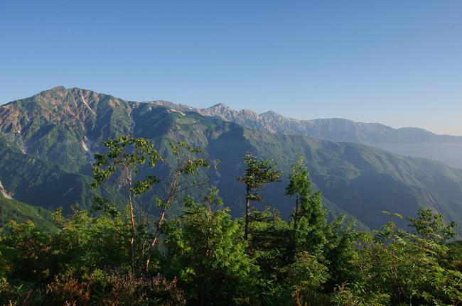 1508五竜岳 遠見尾根-16